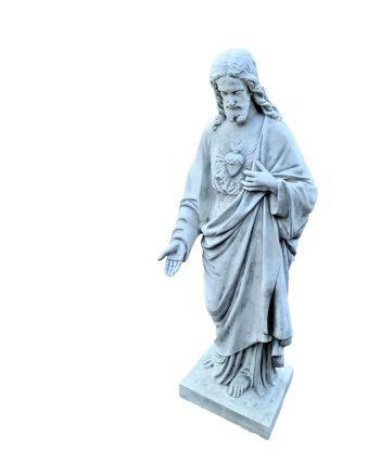 JEZUS Z SERCEM XXL